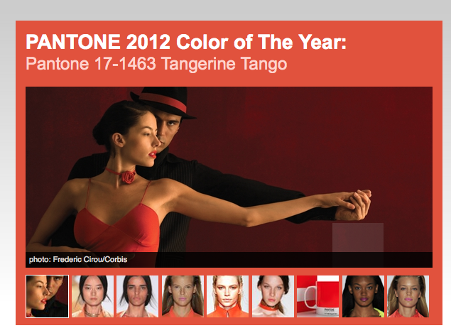Trending Tuesday Tangerine Tango Pantone 2012 Color Of